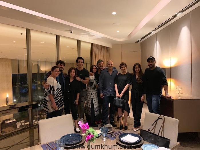 Ashutosh Gowariker, Sunita Gowariker, Farah Khan Kunder, Sonali Bendre, Arjun Kapoor, Sonu Sood
