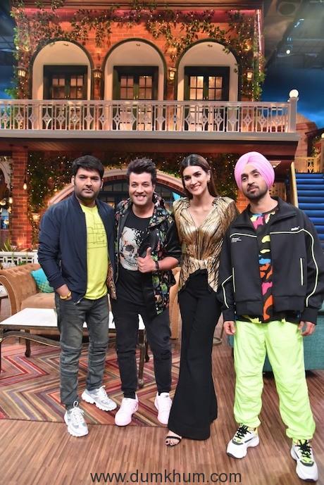 Diljit Dosanjh ,Varun Sharma & Kapil Sharma , Kriti Sanon-