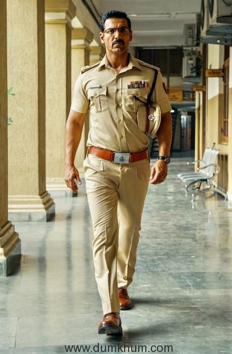 John Abraham plays DCP Sanjeev Kumar Yadav