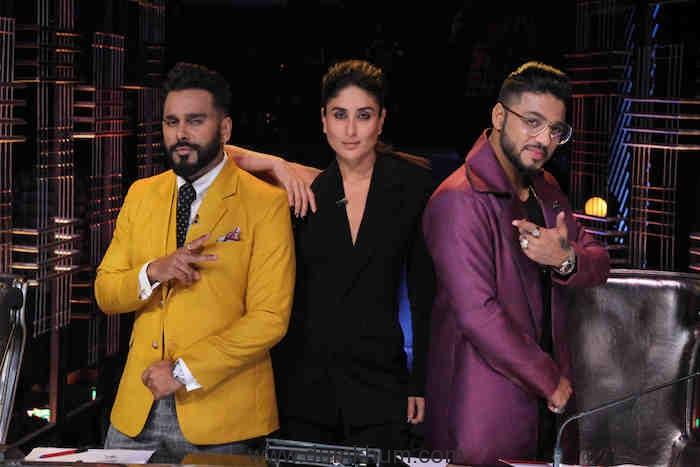 Kareena Kapoor Khan along with the Judges of DID
