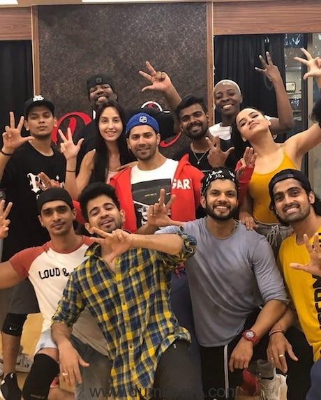 Nora Fatehi - Shraddha , Varun & Cast & Crew