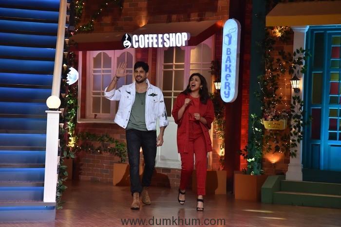Parineeti & Siddharth Malhotra on Kapil Sharma Show-