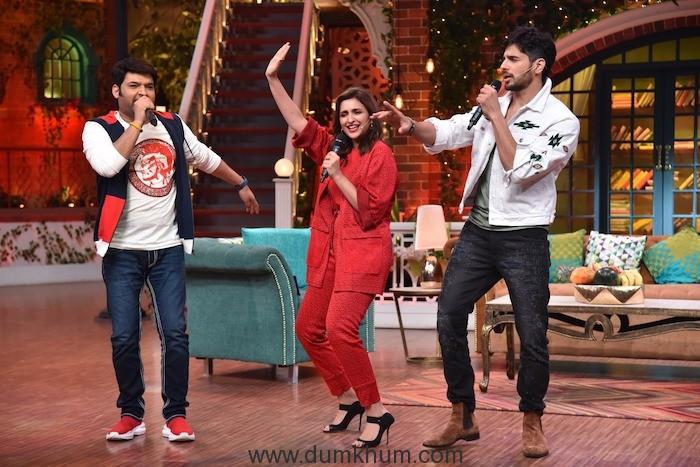 Parineeti & Siddharth Malhotra on Kapil Sharma Show