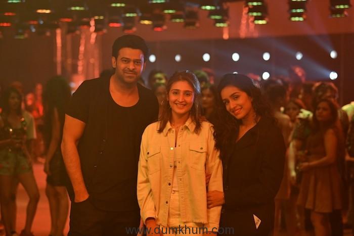 Prabhas, Dhvani Bhanushali and Shraddha Kapoor