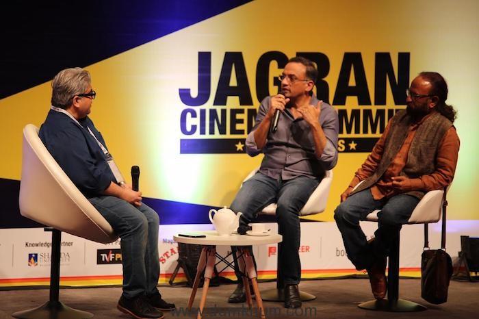 Rajeev Masand, Shobu Yarlagadda and Ketan Mehta