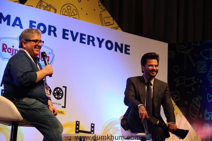Rajeev Masand and Anil Kapoor