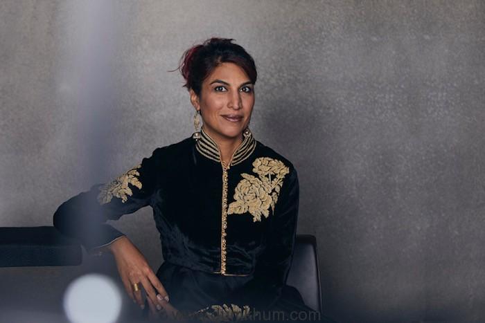 "Rohena Gera. Zurich Film Festival 2018. Portrait session with crew from ""Sir"": Rohena Gera (dir), Tillotama Shome (act), Hotel Steinberger, Zurich, 01.10.2018, Photo Lucian Hunziker"