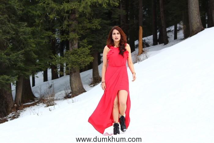 Sagarika Ghatge Relishes Shimla