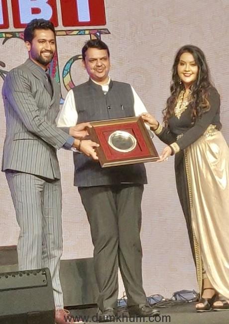 Vicky and Sree Devendra and Amruta Fadnavis
