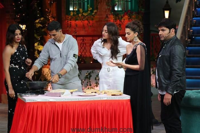 Akshay Kumar, Tapsee Pannu, Sonakshi Sinha and Kirti Kulhari