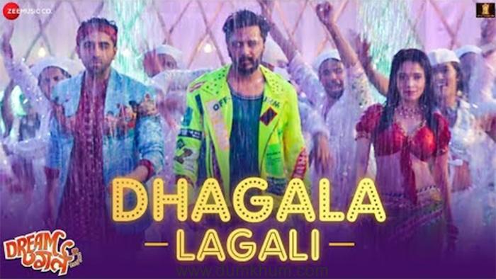 Recreation of Marathi song Dhagala Lagali from Dream Girl !