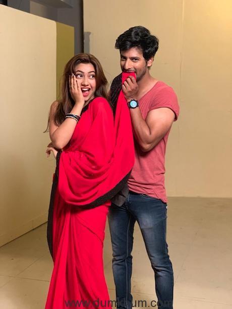 Kalyani and Malhar from Zee TV's Tujhse Hai Raabta (3)