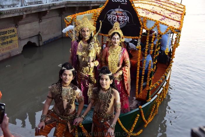 Ram Siya Ke Luv Kush at Guptar Ghat in Ayodhya-1