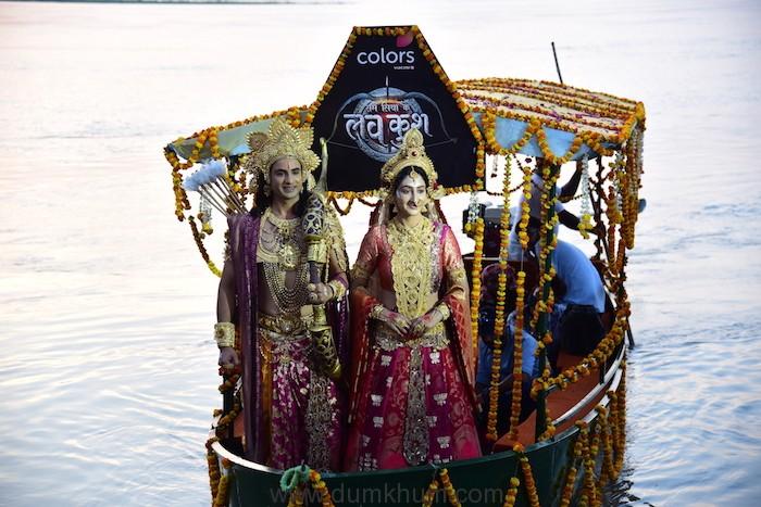 Ram Siya Ke Luv Kush at Guptar Ghat in Ayodhya.-2