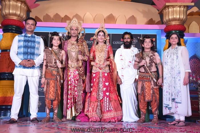 Ram Siya Ke Luv Kush at Guptar Ghat in Ayodhya..