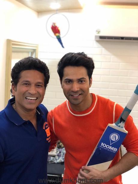 Sachin and Varun Dhawan-