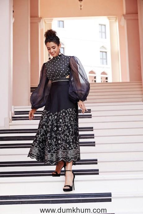 Sanya Malhotra at The Pearl Qatar