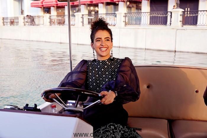 Sanya Malhotra at The Pearl Qatar_2