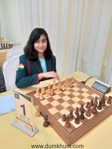 Tanishka Kotia, the 5th Asia Rank holder in female U-16 category (1)
