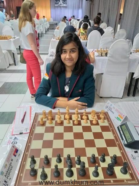 Tanishka Kotia, the 5th Asia Rank holder in female U-16 category
