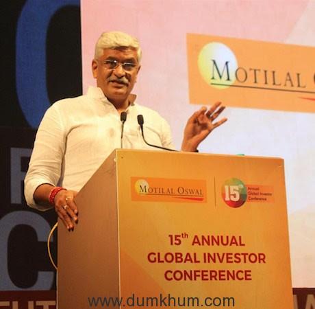 Union Minister for Jal Shakti, Shri Gajendra Singh Shekhawat-