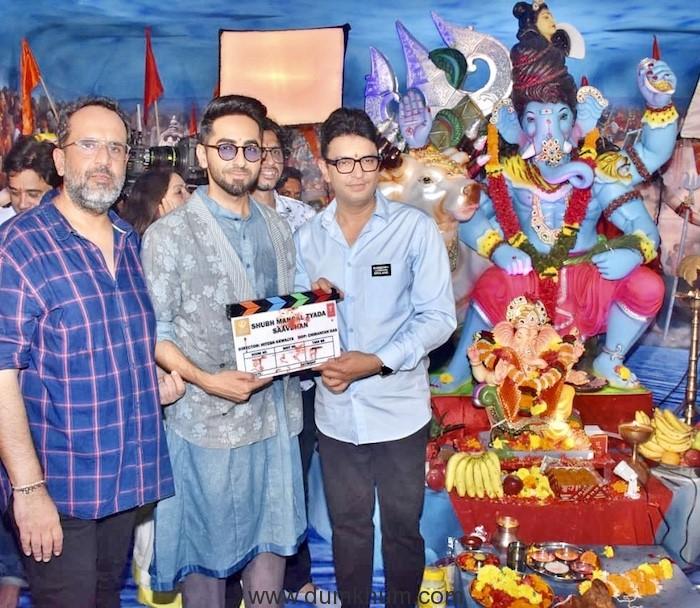 Anand L Rai, Bhushan Kumar, Ayushman Khurrana and Neena Gupta-2