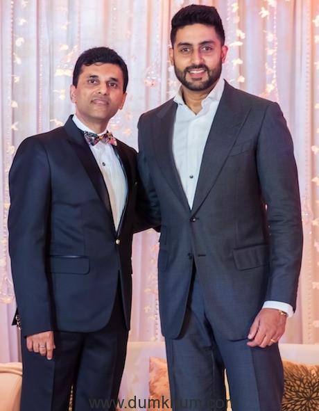 Anand Pandit with Abhishek B