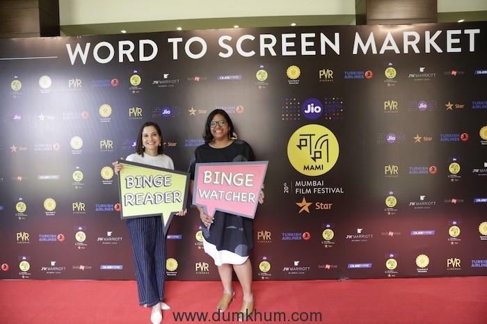 Anupama Chopra_Festival Director and Smriti Kiran_Artistic Director_Jio MAMI with Star_Word to screen market_2019 (1)