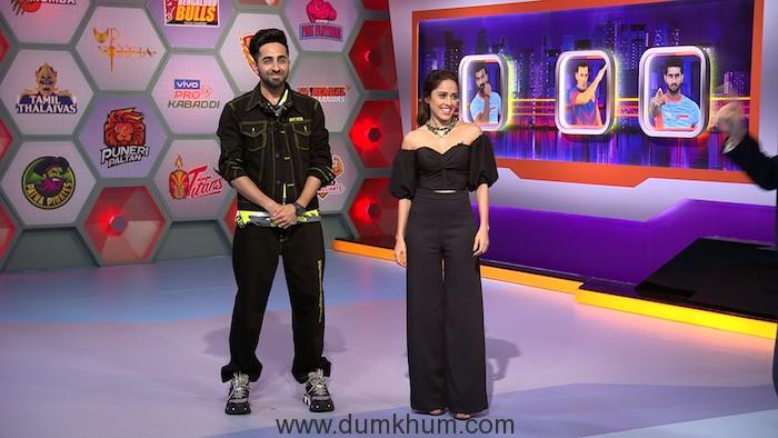 Ayushmann Khurana and Nushrat Bharucha join KBD Live on Star Sports