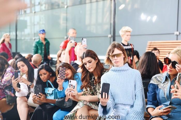 Bollywood diva Kriti Sanon graced the COACH SS'20 fashion show at the NYFW (4)