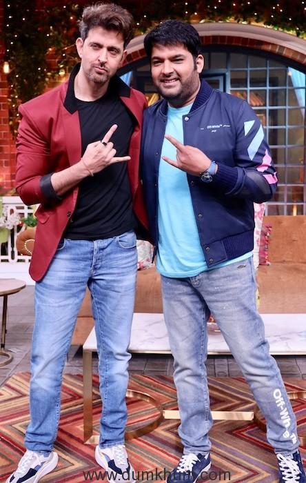 Hritik Roshan and Kapil Sharma have a Rocking time on Kapil Sharma Show-