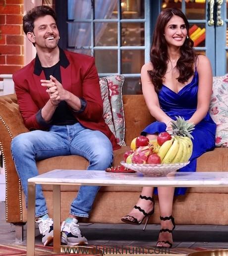Hritik Roshan and Vani Kapoor have a Rocking time on Kapil Sharma Show-