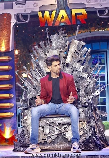 Hritik Roshan had a Rocking time on Kapil Sharma -