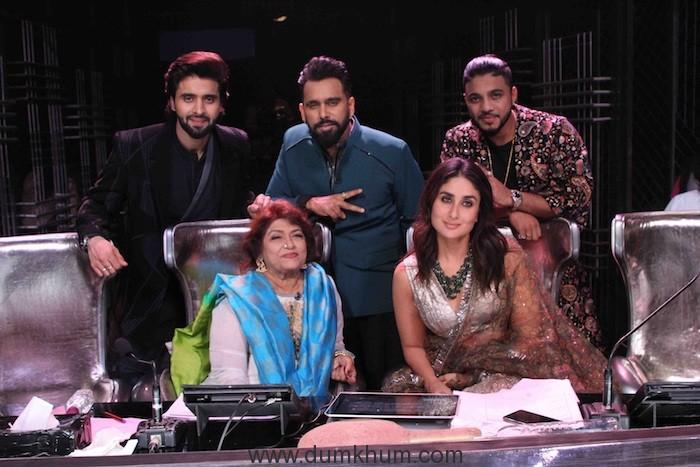 Dance India Dance On Zee TV has Guest Judges Saroj Khan ji and Jackie Bhagnani !