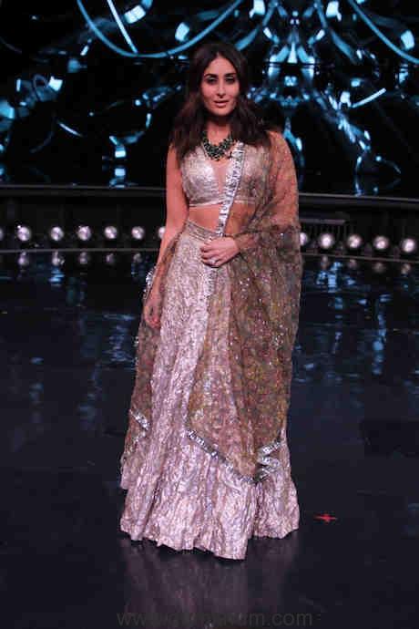 Kareena Kapoor Khan on the sets of DID(2)