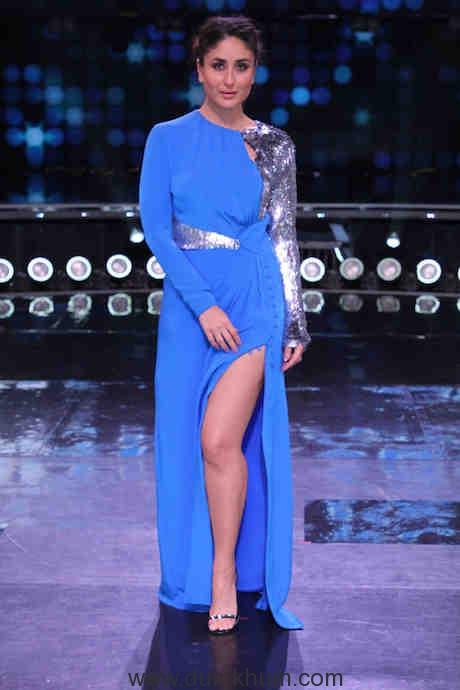 Kareena Kapoor on the sets of DID