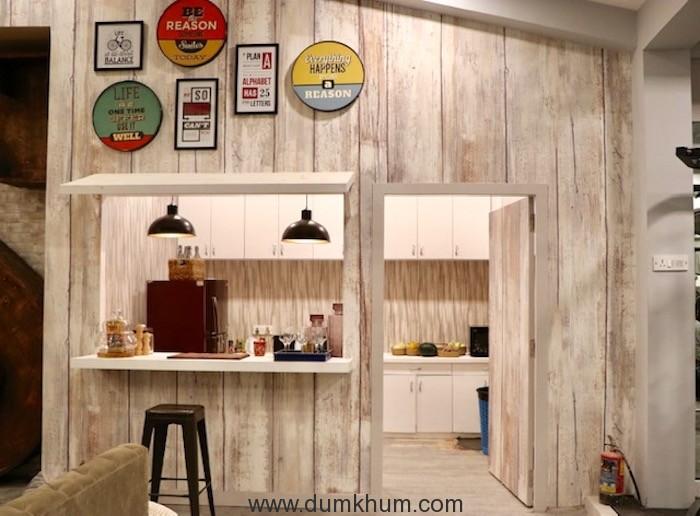 Kitchen area of Salman Khan's chalet