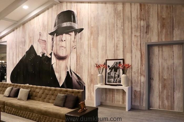 Living room of Salman's Chalet at Bigg Boss