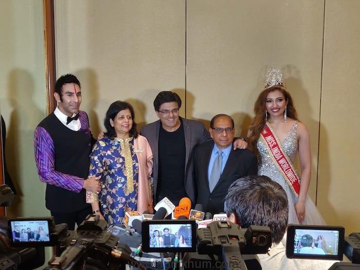 Miss India Worldwide Shree Saini attends the prelims of Miss India Worldwide 2019