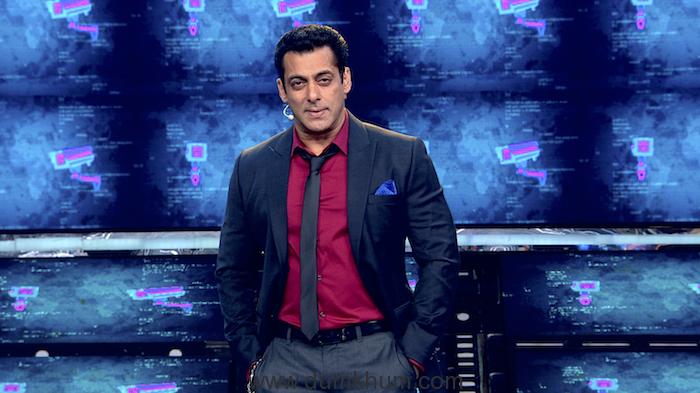 Salman Khan at the launch episode of Bigg Boss
