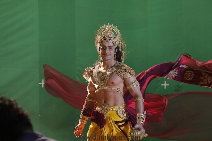 Savi Thakur as Vishnu from Namah (6)