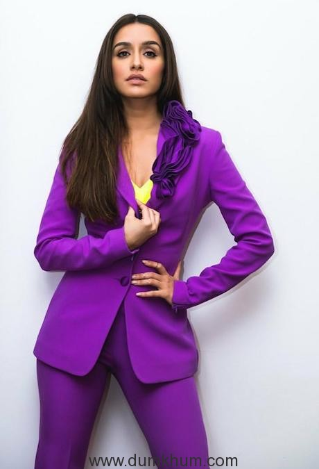 Shraddha Kapoor dazzles in the recent pictures, slays in the classy purple pantsuits