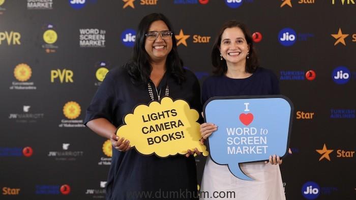 Smriti Kiran, Artistic Director, MAMI and Anupama Chopra, Festival Director, MAMI at Jio MAMI 21st Mumbai Film Festival with Star Word to Screen Market 2019