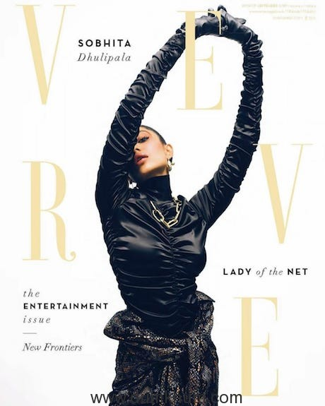 Sobhita Dhulipala looks enthralling on the bridal issue of the September Cover of Verve
