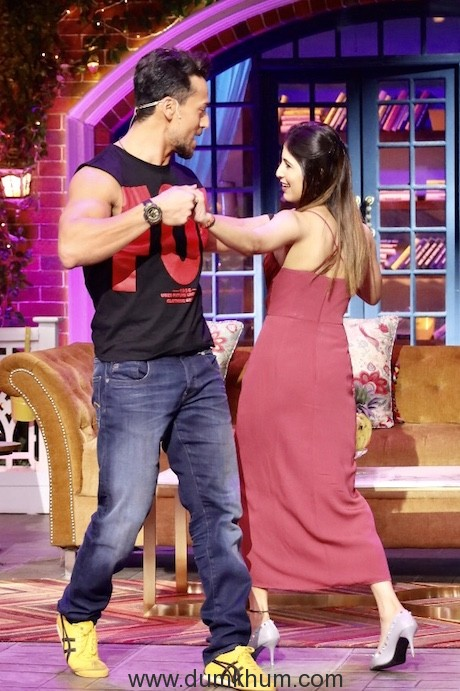 Tiger's fan moment on The Kapil Sharma Show--