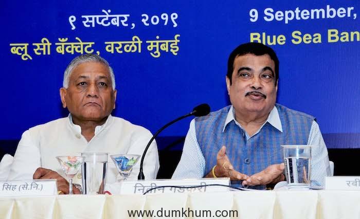 Union Minister Shri Nitin Gadkari on 100 Days of Modi Government