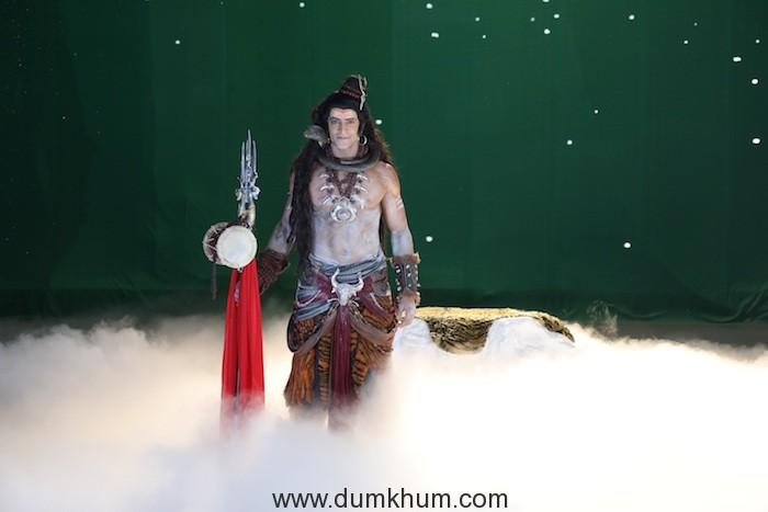 Vikkas Manaktala as Lord Shiva from Namah (2)