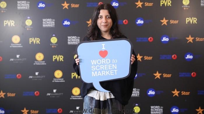 Zoya Akhtar, Filmmaker and Board Member, MAMI at Jio MAMI 21st Mumbai Film Festival with Star Word to Screen Market 2019