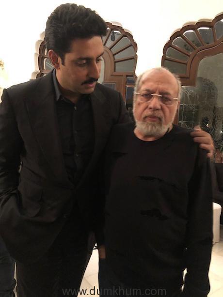 Abhishek Bachchan with JP Dutta
