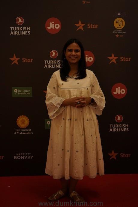 Aparna Purohit - Head of India Orignals - Amazon Prime Video for Artistic Freedom at Jio MAMI 21st Mumbai Film Festival with Star